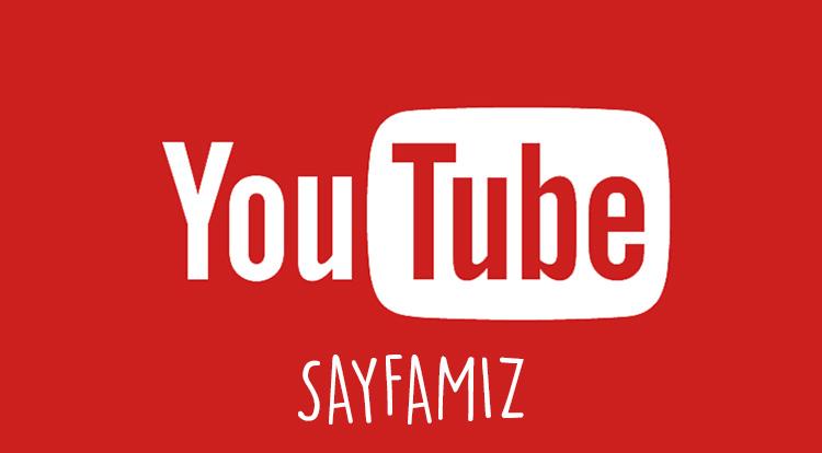 Youtube Sayfamız